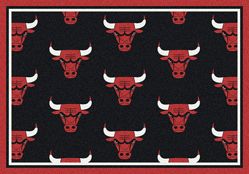 Chicago Bulls Winning Team Rugs Choose Your Team Rug